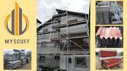 Gerüst Baugerüst 102qm Fassadengerüst neues