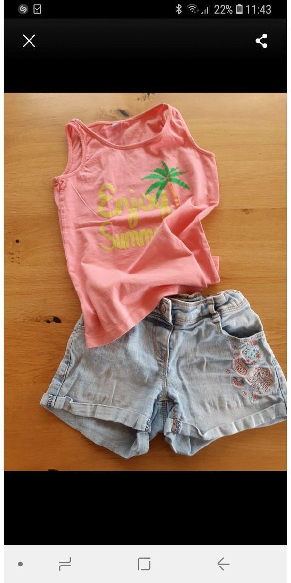 2 teilige Mädchenbekleidung