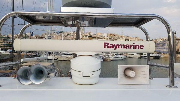 Raymarine Balkenradar inklusive Anschlusskabel und