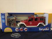 Jepp Wrangler Feuerwehr Einsatzfahrzeug