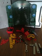 Spielzeug Werkbank Bosch