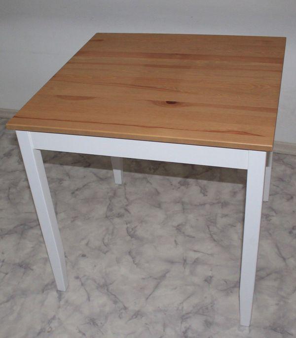 Ikea Tischfüsse ikea tisch kiefer massiv lerhamn weiß lasierte tischbeine top