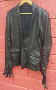 OBSCUR Gloved Leatherjacket_