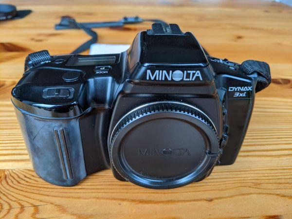 Minolta Dynax 3xi plus Blitz