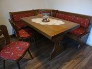 Essecke Eiche massiv Tisch 2