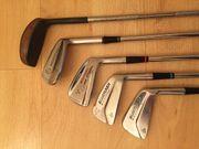 Golfschläger 5 Stück unterschiedliche Marken