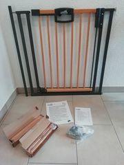 Geuther Treppenschutzgitter Easy Lock Wood