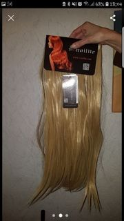 Clip in Extensions Dunkelblond