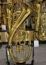 Melton Tenorhorn in Bb Messing