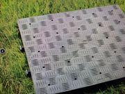 Kunststoffboden PRO 18 m2 Anthrazit