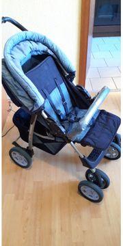 Kinderwagen Buggy von Herlag blau