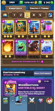 Clash Royale Account Lev 13