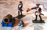 2 neuw Zinnsoldaten Preußen mit