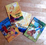 4 Malbücher christl Motive ital