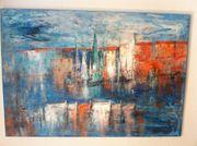 Acryl Gemälde Abstrakt auf Leinwand