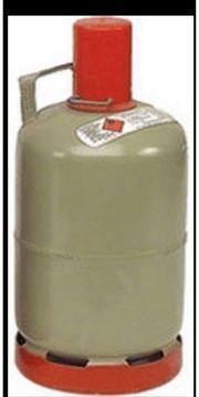 Gasflasche grau 11 kg Eigentum