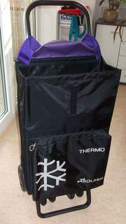 Luxus-Einkaufstrolley mit 2 großen 4