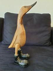 Holz-Ente