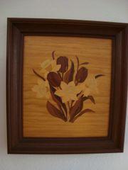 Holzeinlege Bild