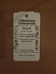 Liftkarte Babylift Unterstmatt 3 Punkte