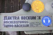 Elektra-Beckum Hochleistungs-Turbo-Häcksler