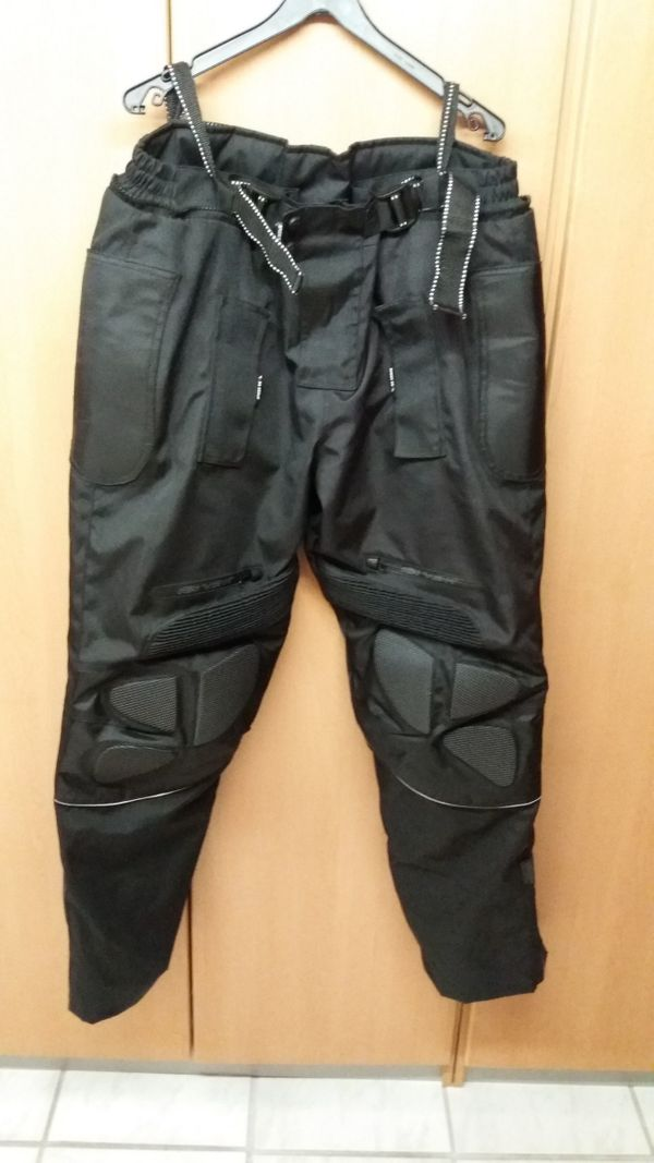 Montana Herren Cordura Motorradhose Textilhose
