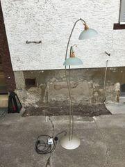 dimmbare Stehlampe Bogenlampe Wohnzimmer Lampe