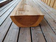 Holz Halbrundling Balken