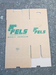 Umzug Kartons Transport Karton Falt