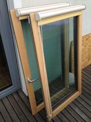 Verkaufe günstig 3-fach verglastes Holz-Alufenster