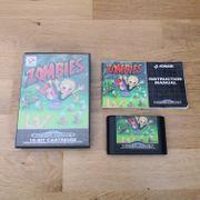 Sega Mega Drive Spiel Zombies