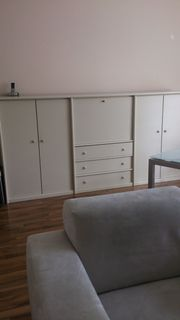 Highboard ,creme-farben