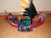 Playmobil Asia Schiff rot schwarz