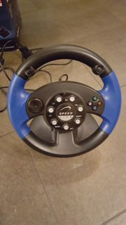 Lenkrad Blue Lightning Racing Wheel