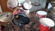Schlagzeug Drumset Sonor Force 2001