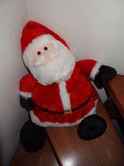 Plüsch Nikolaus sucht neues Zuhause