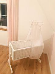 Babywiege mit Nestchen Matratze