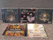Verschiedene Musik CD s GreenDay