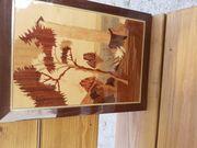 Intarsien Bild aus Holz