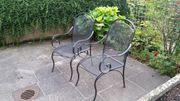 Terrassenmöbel aus Stahl