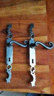 Zwei x antike Türklinke