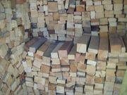 Brennholz Kanthölzer Verschiedene Holzsorten
