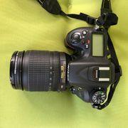 Nikon D7100 mit viel zubehoehr