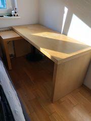 Schreibtisch Ikea mit Verlängerung
