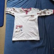 warmes Nachthemd Größe 116 zu