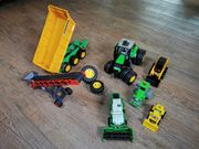 Traktor Hänger Baumaschine
