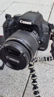 Canon EOS 500d inkl 18-55mm