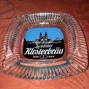 Aschenbecher Zwiefalter Klosterbräu 60-70er Jahre
