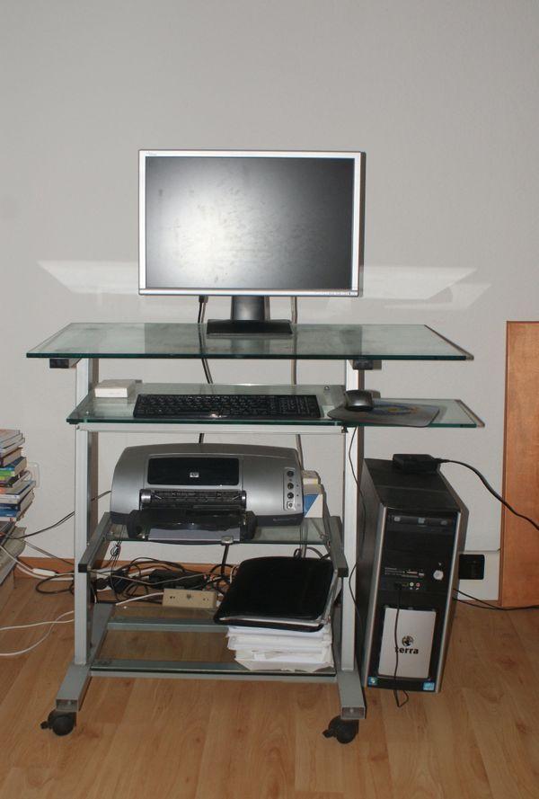 Computer Schreibtisch Aus Glas In Velbert Computermöbel Kaufen Und