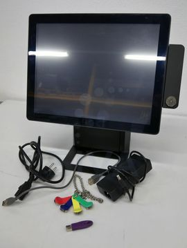 Gastronomie, Ladeneinrichtung - Kassensystem Zonerich ZQ-P1088 Max Touchscreen